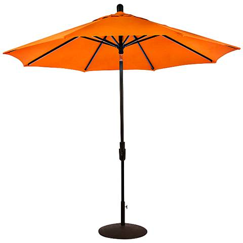 Zuma Shore 8 3/4-Foot Tuscan Sunbrella Patio Umbrella