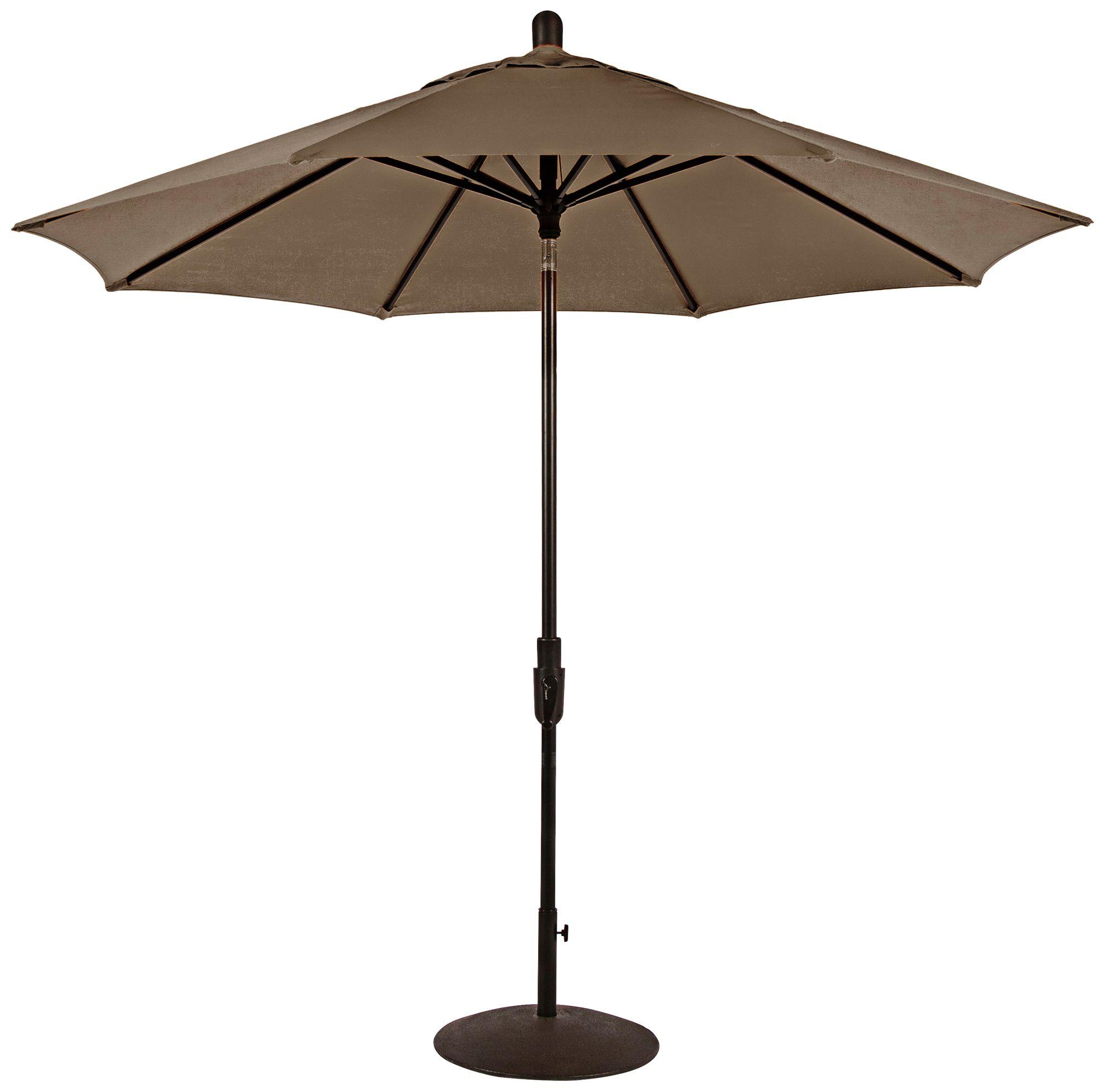 Awesome Zuma Shore 8 3/4 Foot Taupe Sunbrella Patio Umbrella