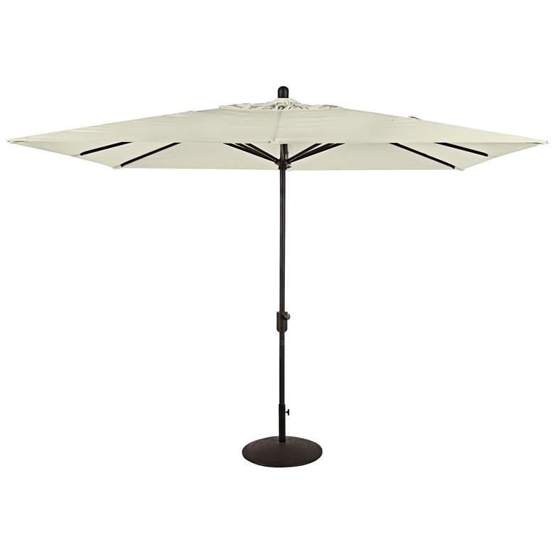 Amauri La Jolla 9 3/4-Foot Natural Sunbrella Market Umbrella