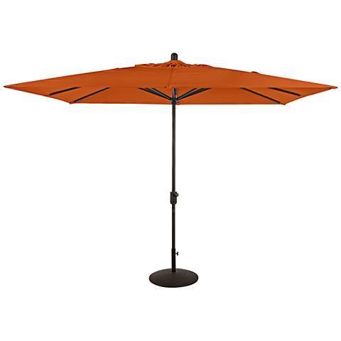 Amauri La Jolla 9 3/4-Foot Tuscan Sunbrella Market Umbrella