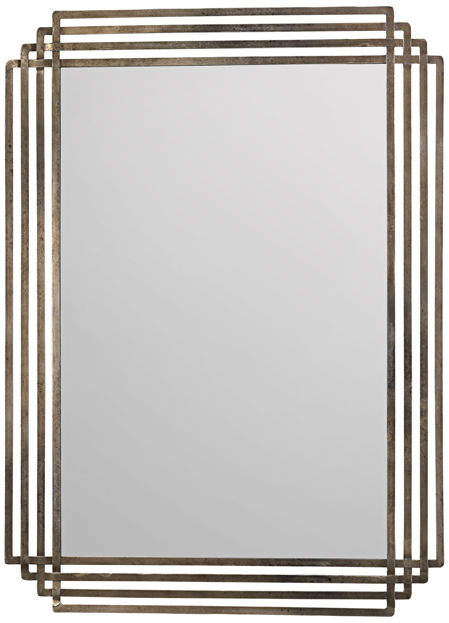 Wall mirrors Living Room Jamie Young Serai Antique Silver 36 The Home Depot Jamie Young Company Wall Mirrors Mirrors Lamps Plus