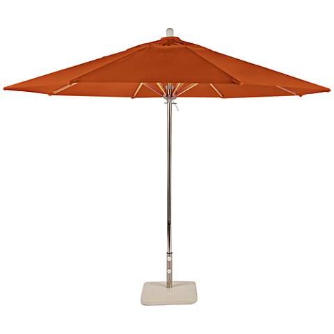 Newport Coast 10 3/4-Foot Tuscan Sunbrella Patio Umbrella