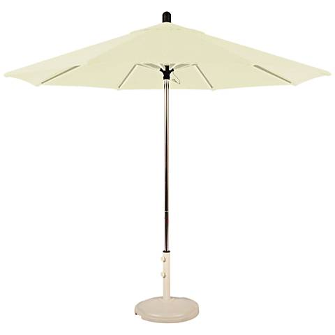 Santa Barbara 8 3/4-Foot Natural Sunbrella Patio Umbrella