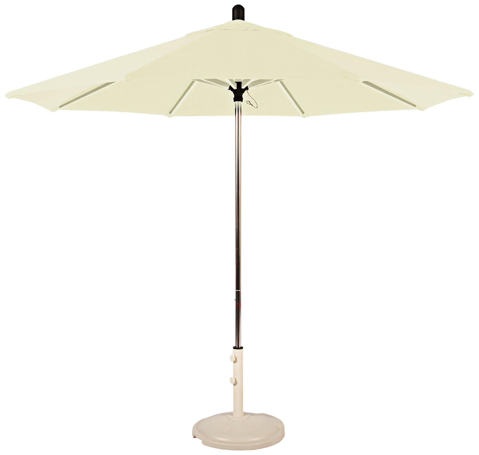 Santa Barbara 8 3/4 Foot Natural Sunbrella Patio Umbrella