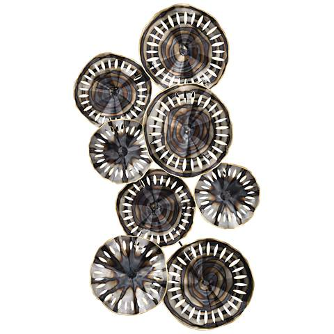 Novae Bastille Elliptical Cutouts Metal Wall Art
