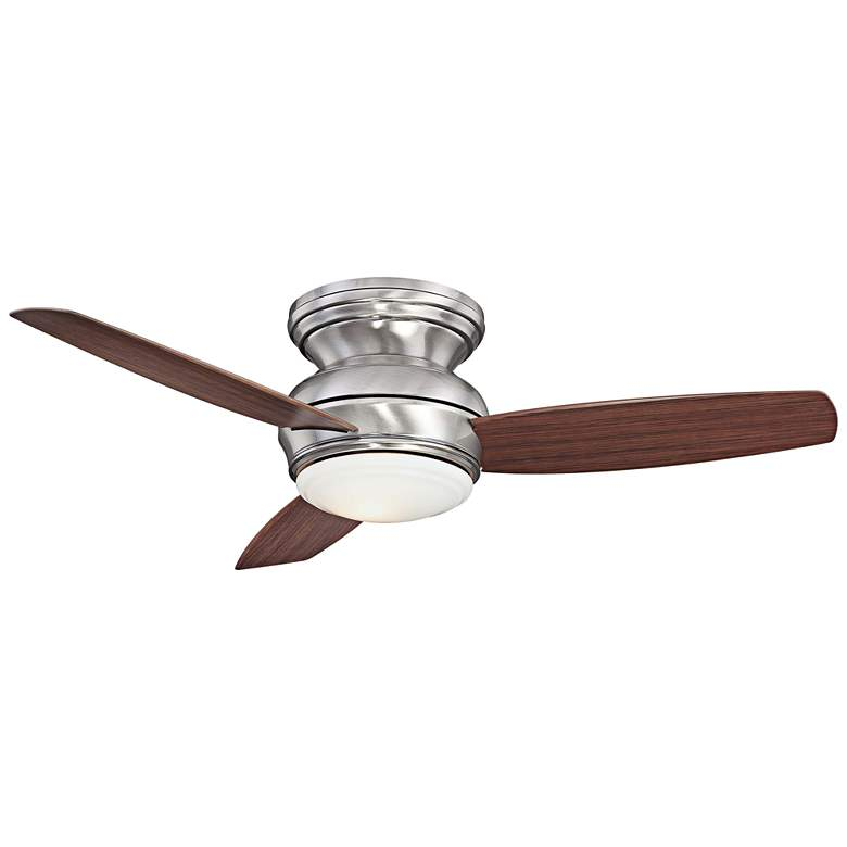 """44"""" Traditional Concept Pewter Flushmount LED Ceiling Fan"""
