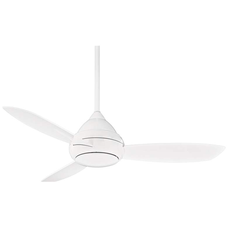 """52"""" Concept I White Wet-Rated LED Ceiling Fan"""