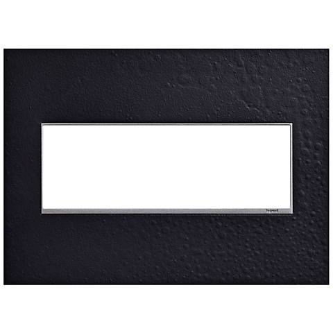 Hubbardton Forge Black 3-Gang Wall Plate