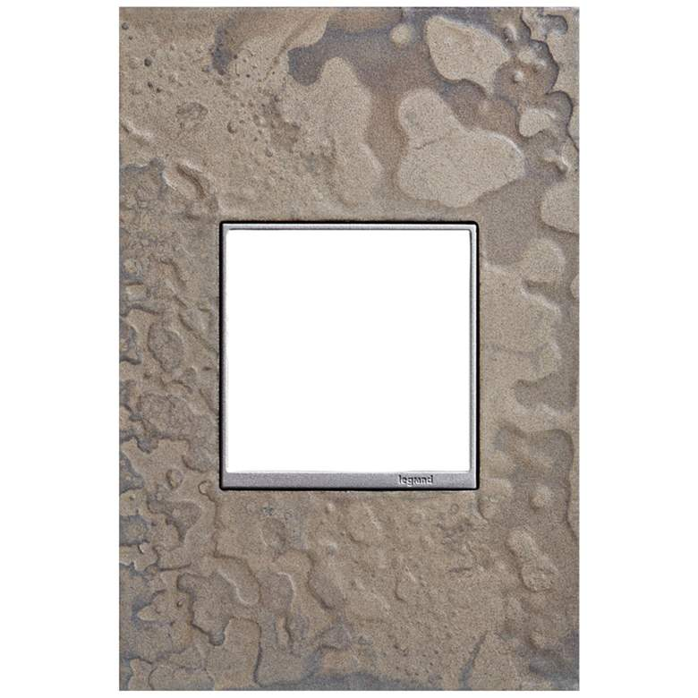 adorne Hubbardton Forge Burnished Steel 1-Gang Wall Plate