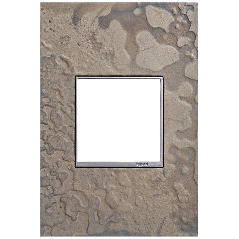 Hubbardton Forge Burnished Steel 1-Gang Wall Plate