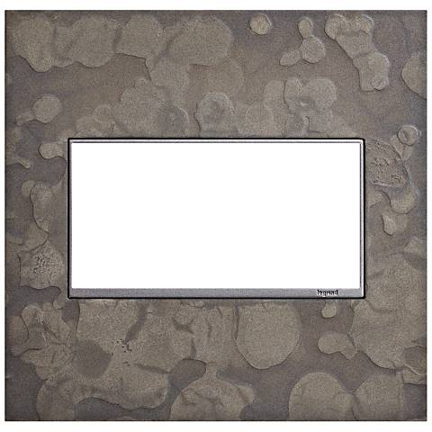Hubbardton Forge Burnished Steel 2-Gang Wall Plate
