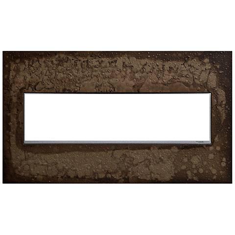 Hubbardton Forge Dark Smoke 4-Gang Wall Plate