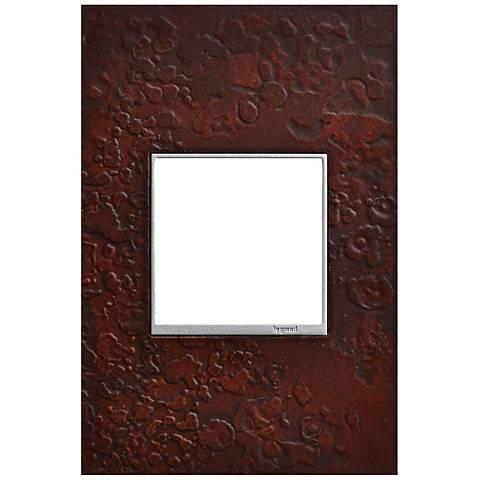 Hubbardton Forge Mahogany 1-Gang Wall Plate