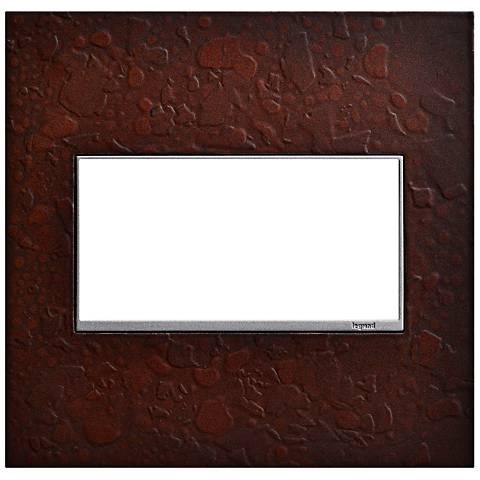 Hubbardton Forge Mahogany 2-Gang Wall Plate