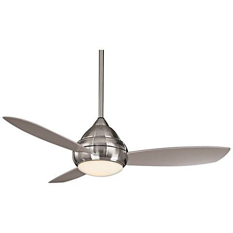 "52"" Concept I Brushed Nickel Wet-Rated LED Ceiling Fan"