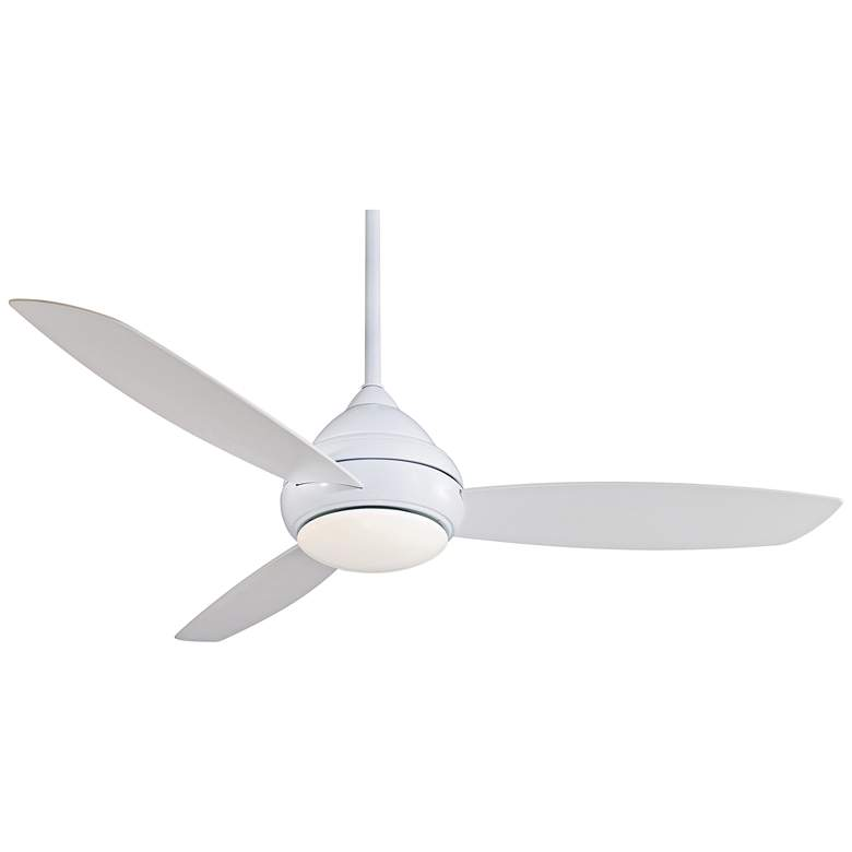 """58"""" Concept I White Wet-Rated LED Ceiling Fan"""