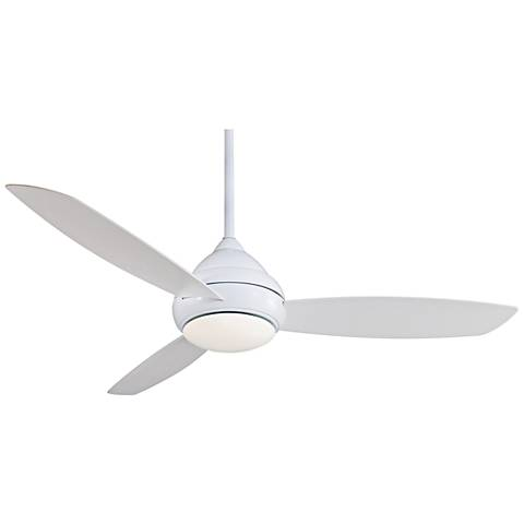 "58"" Concept I White Wet-Rated LED Ceiling Fan"