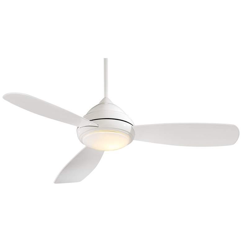 """52"""" Concept I White LED Ceiling Fan"""