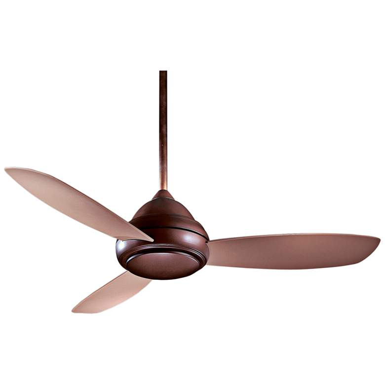 "52"" Concept I Oil-Rubbed Bronze LED Ceiling Fan"