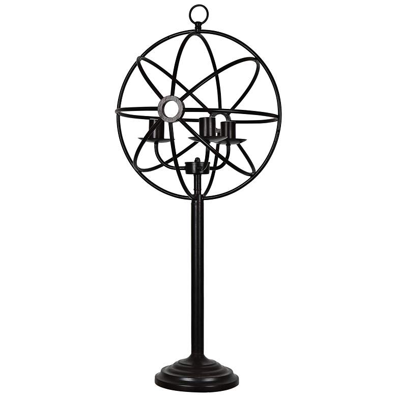 Crestview Collection Global Oil Bronze Metal Table Lamp