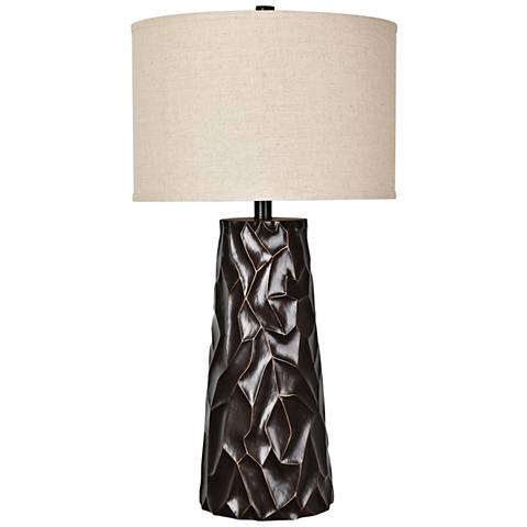 Crestview Collection Huston Bronze Table Lamp