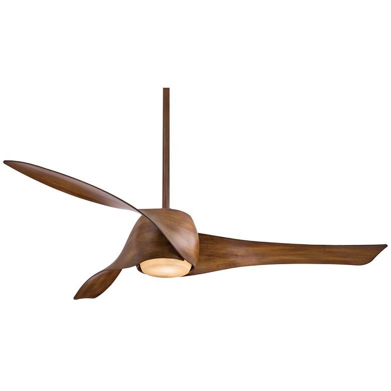 "58"" Artemis Distressed Koa LED Ceiling Fan"