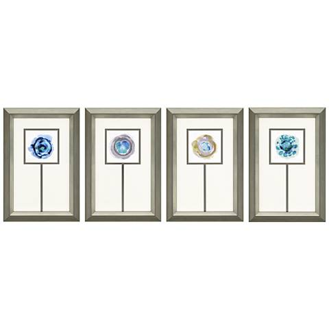 "Stratum 4-Piece 28"" High Framed Wall Art Set"