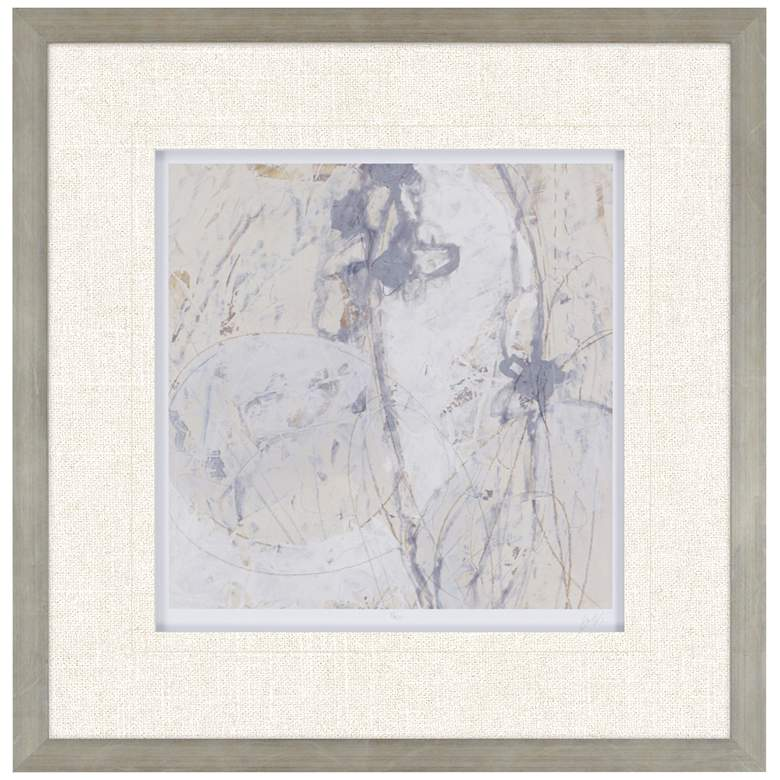 "Impasto Gesture III 31"" Square Framed Wall Art"