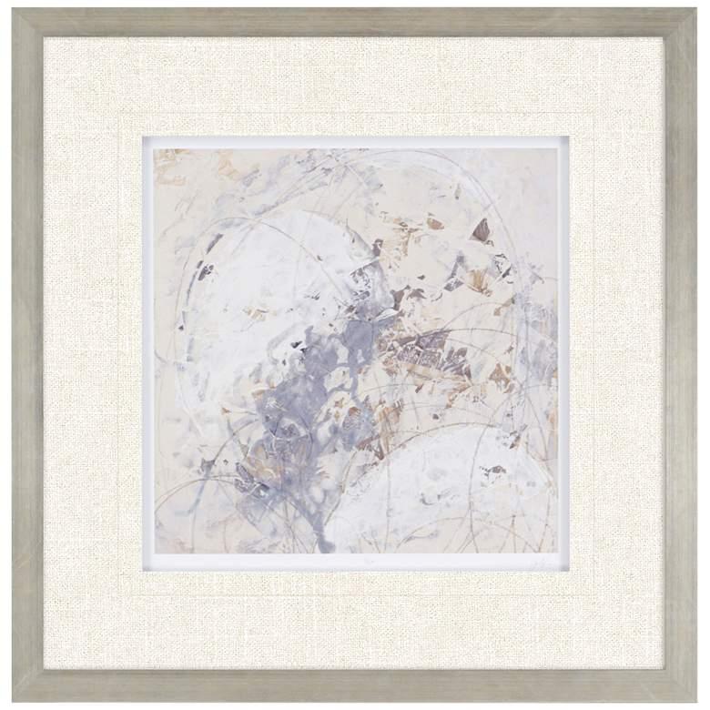 "Impasto Gesture IV 31"" Square Framed Wall Art"