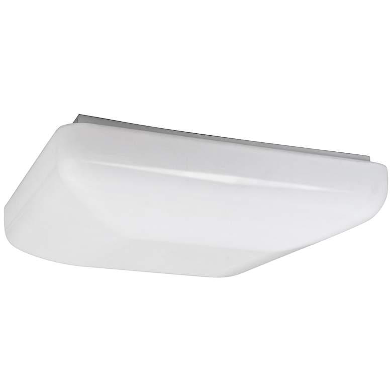 "Quadratum Flushmount 19 1/2"" Wide White LED Ceiling Light"