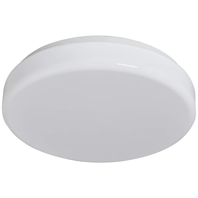 "Cumulus Flushmount 11"" Wide White LED Ceiling Light"