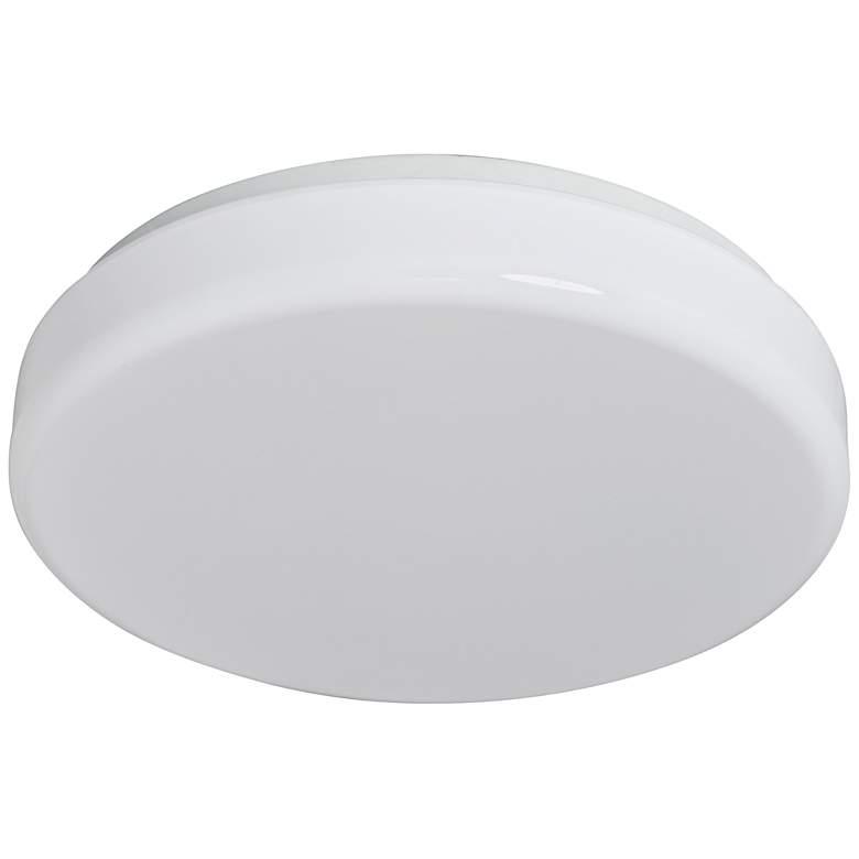 "Cumulous Flushmount 14"" Wide White LED Ceiling Light"