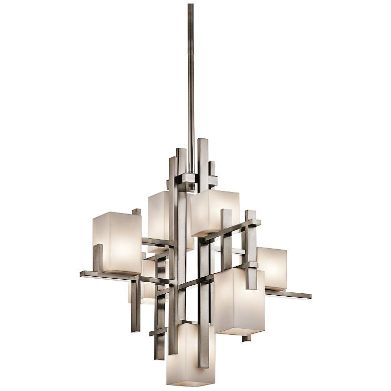 "Kichler City Lights Steel 23.5"" Wide Chandelier"