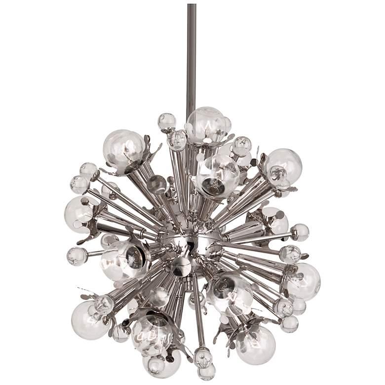 Jonathan Adler Sputnik 18-Light Nickel Pendant Light