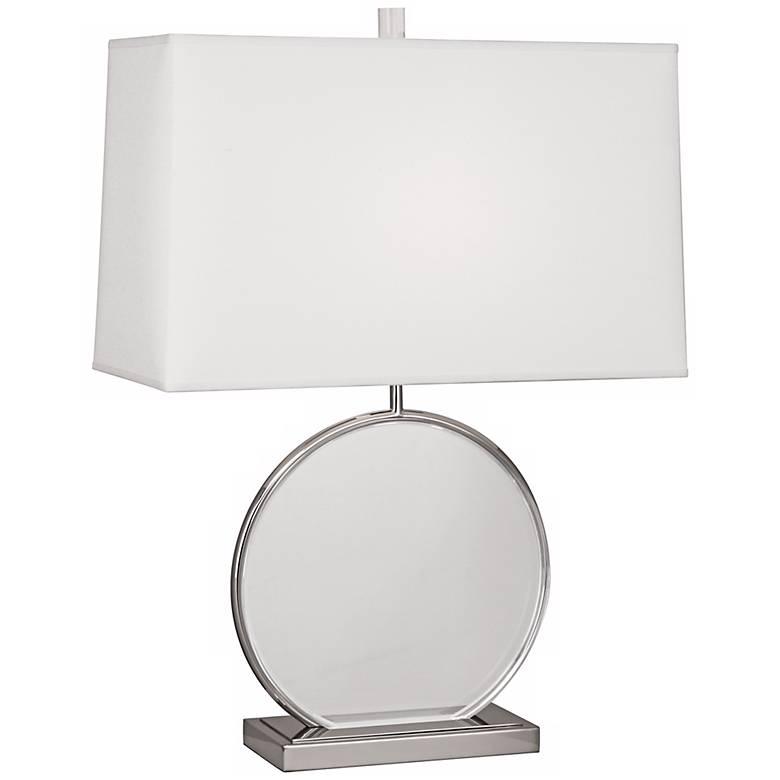 Robert Abbey Alice Polished Nickel Table Lamp