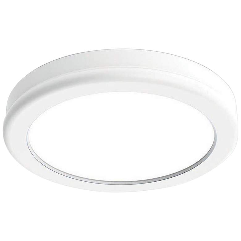 """dweLED Geos 6"""" Wide White LED Ceiling Light"""