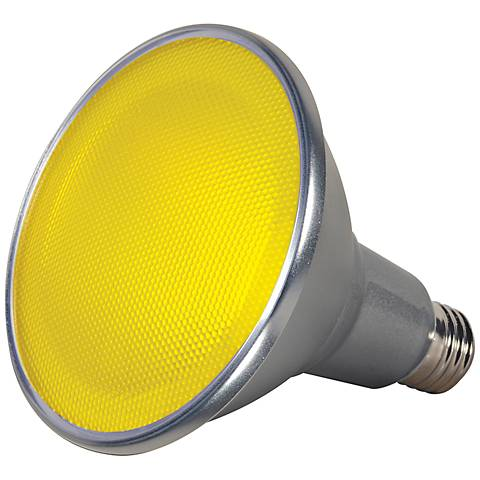 120W Equivalent Yellow 15W LED Dimmable Standard PAR38 Bulb