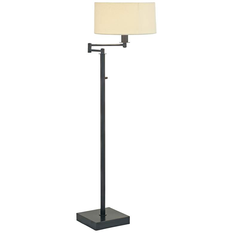 House of Troy Franklin Oil Rubbed Bronze Swing Arm Floor Lamp