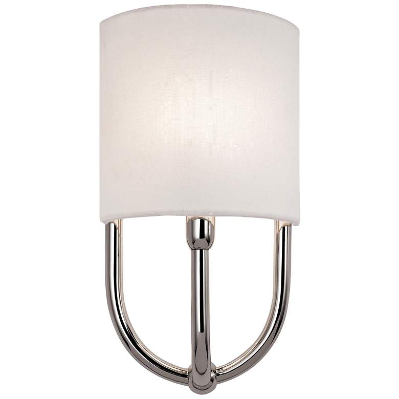 "Sonneman Intermezzo 13"" High Polished Nickel Wall Sconce"
