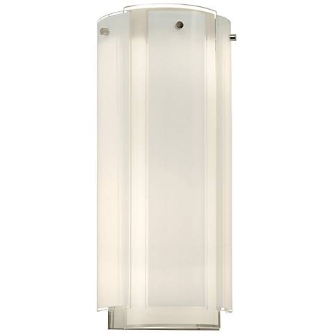 "Sonneman Velo 18"" High Polished Chrome Wall Sconce"