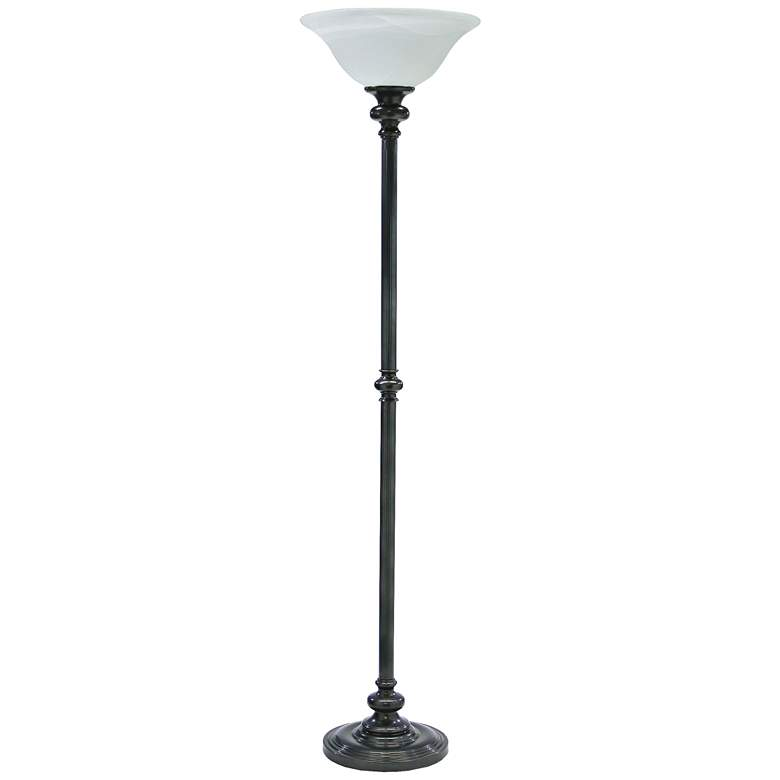 House of Troy Newport Oil Rubbed Bronze Torchiere