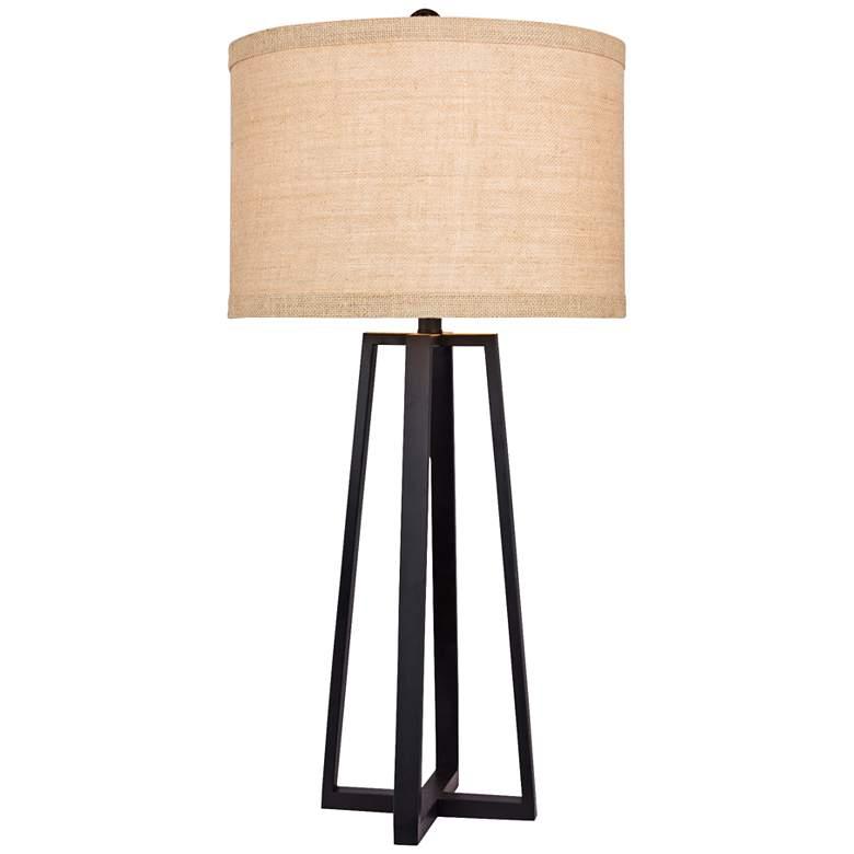 Hardtner Black Molded Metal Table Lamp