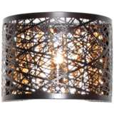 "ET2 Inca 6"" High Bronze LED Wall Sconce"