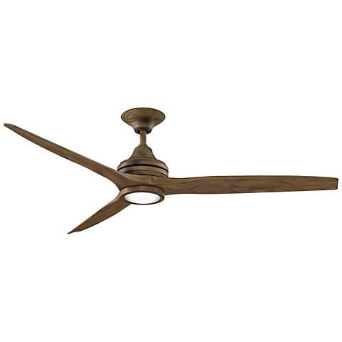 "60"" Fanimation Spitfire Driftwood LED Ceiling Fan"