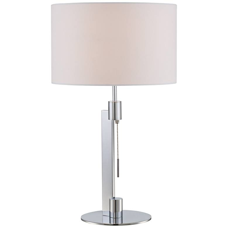 Lite Source Catriona Chrome Metal Table Lamp