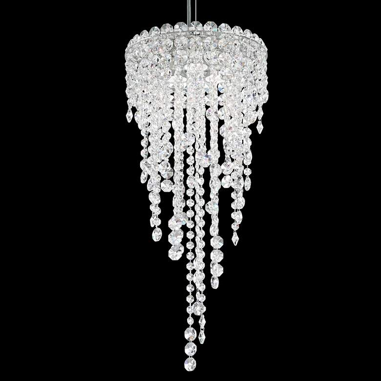 "Schonbek Chantant 3-Light 10 1/2"" Wide Crystal Mini Pendant"