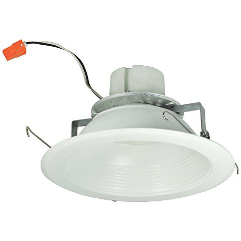 "6"" Nora 16.6 Watt 2700K LED Reflector Retrofit Trim in White"