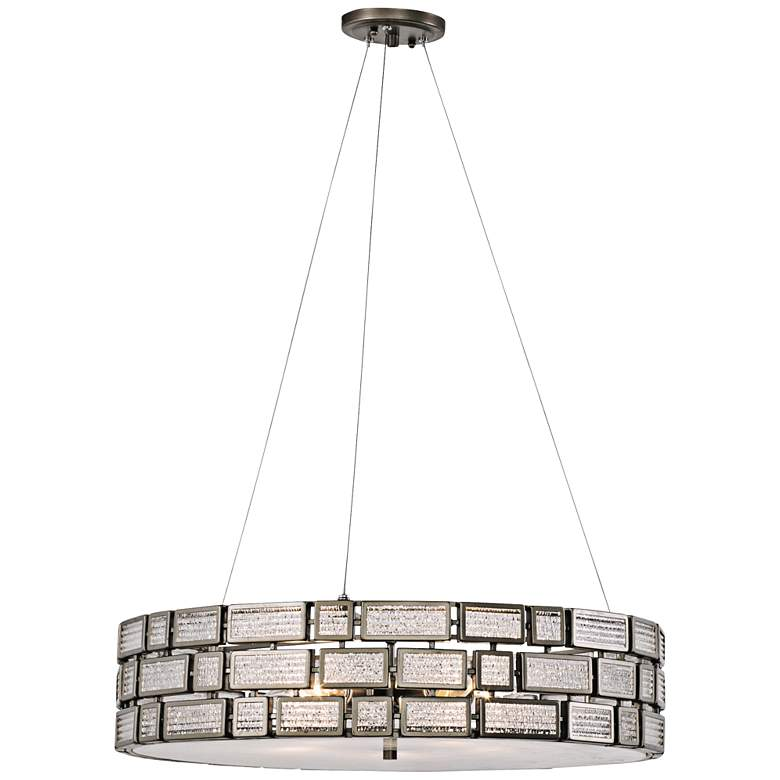 "Varaluz Harlowe 24"" Wide New Bronze Pendant Light"
