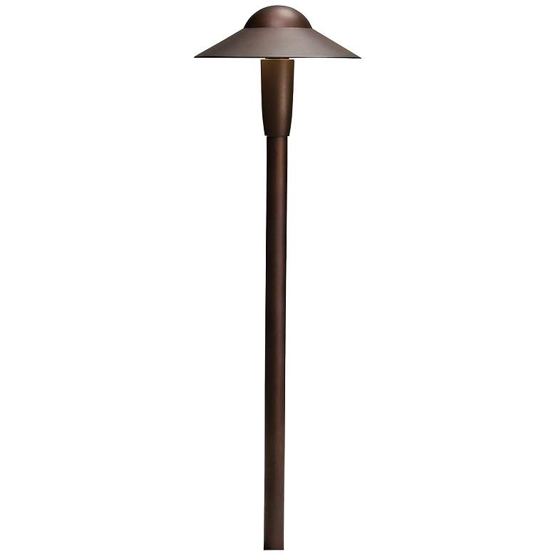 "Kichler 22"" High 2700K LED Bronze 6"" Dome Path Light"