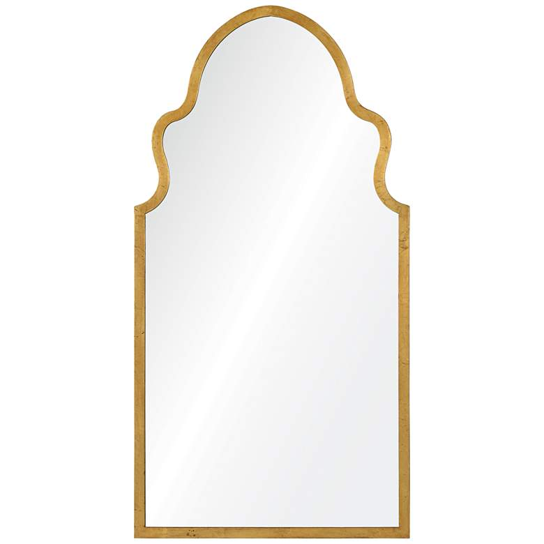 "Cooper Classics Lincoln Gold Leaf 20"" x 37 3/4"" Wall Mirror"